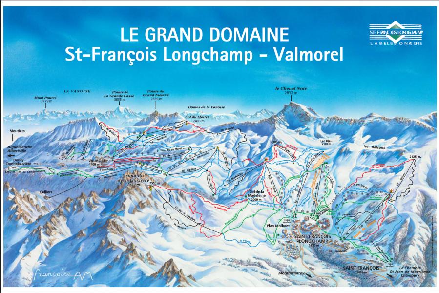Skigebiet saint francois longchamp skiurlaub skifahren for Bus saint avre la chambre saint francois longchamp