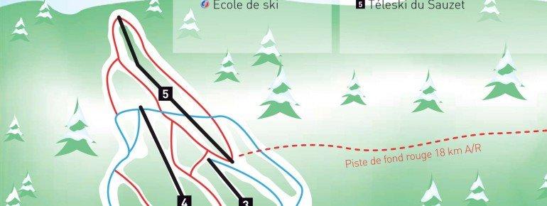 Pistenplan Saint Hilaire du Touvet