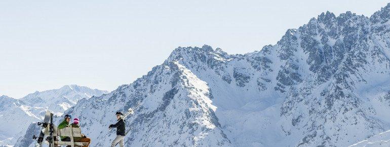 Aussicht über das Samnauner Bergpanorama