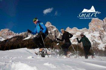 Zusammen mit einem Bergführer geht es durch den Naturpark.