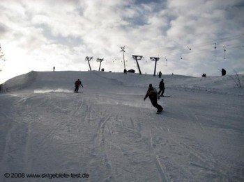 Snowboarden auf der Piste(Nr.13)!