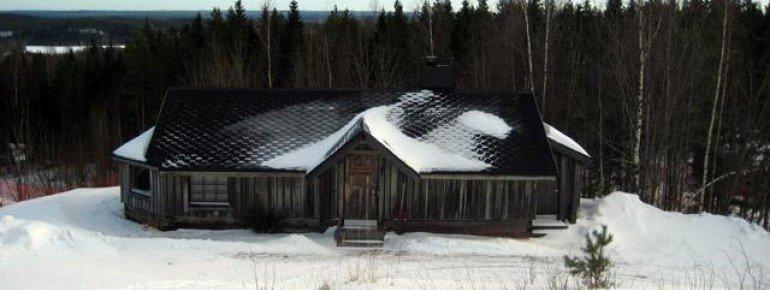 Kleine Hütte bei der Bergstation von Lift Nr.19!