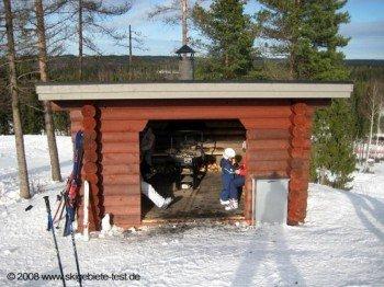 Kleine Selbstversorger-Hütte mit Grill bei Piste 11!