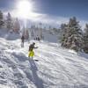 Blick ins Skigebiet Hochoetz