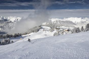 Über 40 Pistenkilometer warten auf Skifahrer und Snowboarder.