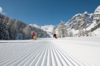 Wintersportler kommen voll auf ihre Kosten.