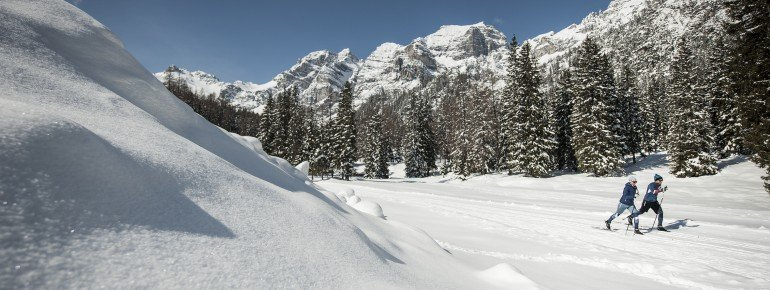 Auf der Rundhöhenloipe findet man auf über 1.600 Metern einen 3,5 km langen Rundkurs mit einem Höhenunterschied von 75 Metern vor.