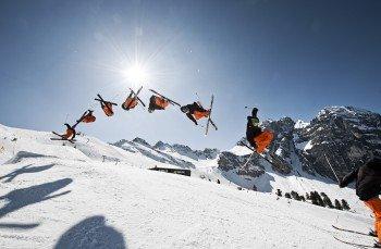 Auch Freeskier und -snowboarder kommen in Schlick auf ihre Kosten.
