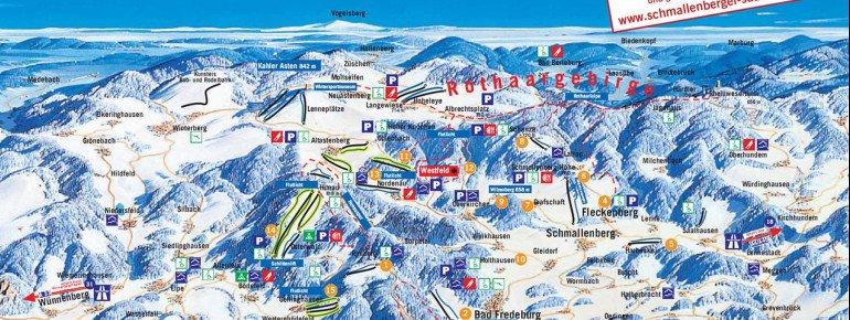 Pistenplan Schmallenberger Höhenlift