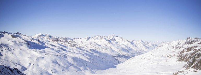 Der Schnalstaler Gletscher liegt auf 3.200 Metern.