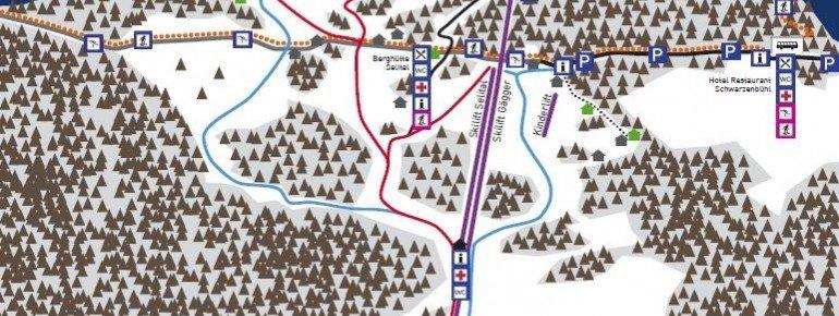 Pistenplan SchneeSelital