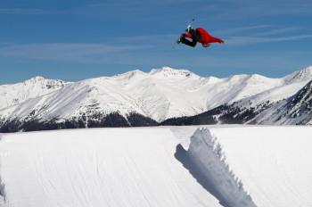 Big Kicker im Snowpark Schöneben