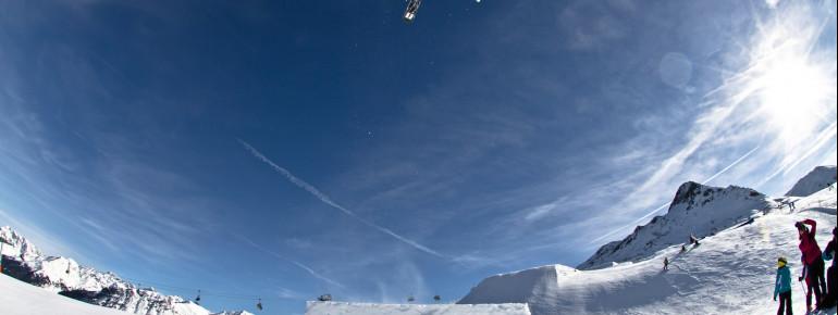 Der Snowpark Schöneben hat viel zu bieten