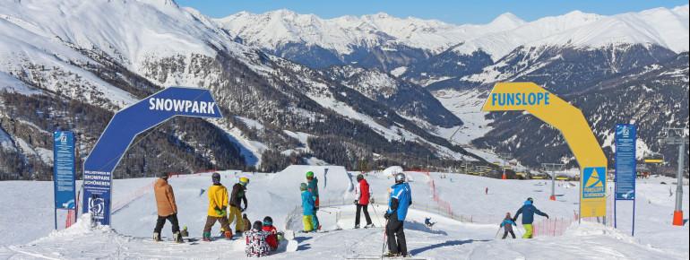 Funslope und Snowpark - beliebte Attraktionen in Schöneben