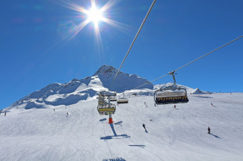 Jochbahn im Skigebiet Schöneben