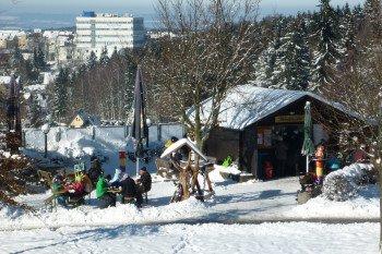 Wintersportler müssen in der Skiwelt Schöneck nicht verhungern: Mehrere Einkehrmöglichkeiten stehen zur Verfügung
