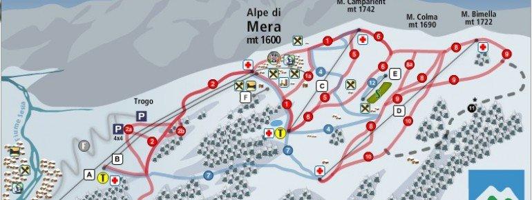 Pistenplan Scopello Alpe di Mera
