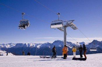 70 abwechlungsreiche Pistenkilometer stehen den Wintersportlern hier zur Verfügung.