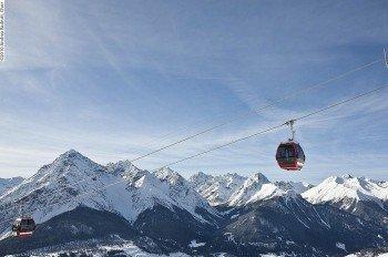 13 Aufstiegsanlagen bringen die Sportler auf den Berg hinauf.