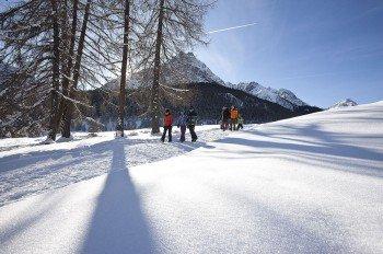 Zahlreiche Winterwanderwege warten darauf erkundet zu werden.