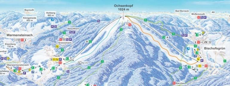 Winterpanorama Erlebnisregion Ochsenkopf