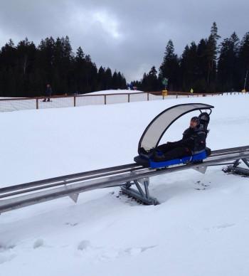 Der Coaster Ochsenkopf ist auch im Winter geöffnet.
