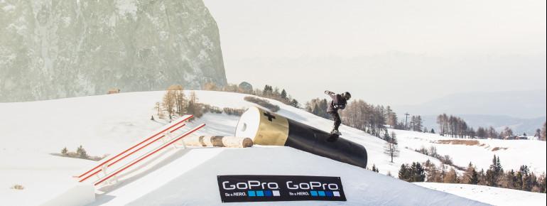 Bester Snowpark Italiens und gehört seit 2018 auchoffiziell zu den Top 3 der Welt