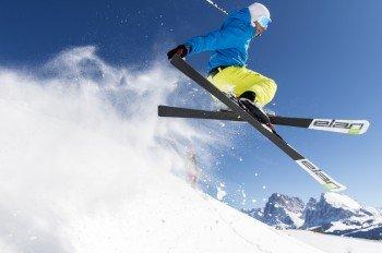 Skispaß auf der Seiser Alm
