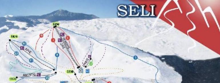 Pistenplan Seli Ski Area