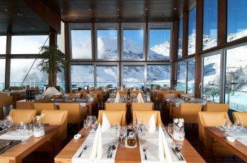 Die Ski Lounge in Serfaus ist das kulinarische Highlight in der Region.