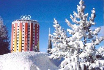 Sestriere beheimatet eines der insgesamt drei Olympischen Dörfer der Winterspiele 2006.