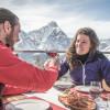 Zahlreiche Hütten und Bergrestaurants laden zum Einkehrschwung ein.