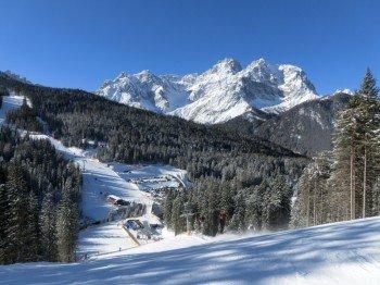 Seit der Verbindung von Helm und Rotwand an der Signaue hat das Skigebiet einiges zu bieten