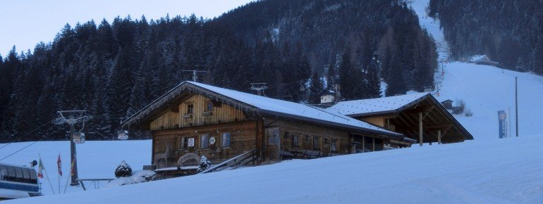 Die Gröberhütte in Vierschach ist vor allem für ihre Süßspeisen bekannt