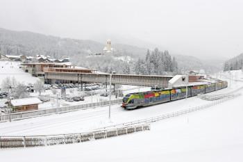 Bahnhof in Vierschach.