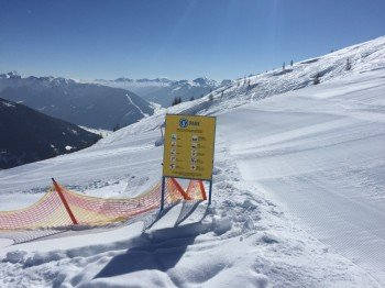 Auch im Yellow-Snowpark gelten die 10-FIS-Pistenregeln