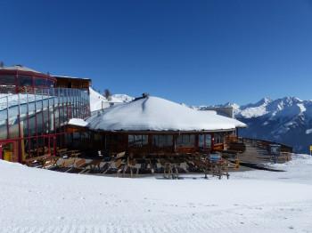 Das Angebot am Panoramarestaurant Gadein ist für Après-Ski-Fans und Hungrige gleichermaßen Anlaufstelle Nummer 1