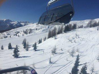 Der Thurntaler Sessellift ist kuppel- und beheizbar. Die Liftanlagen im Skigebiet Sillian Hochpustertals sind größstenteils modern