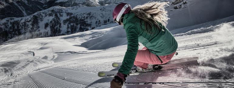 Auf 80 Pisten können sich Skifahrer in Silvretta Montafon austoben.