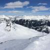 Herrliches Panorama im Skigebiet Silvretta Montafon im österreichischen Vorarlberg.
