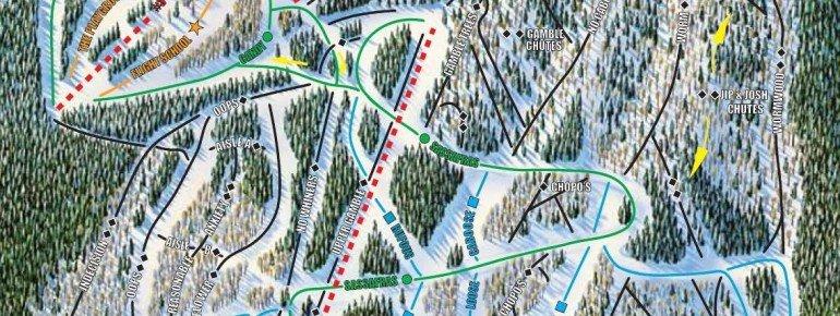 Pistenplan Sipapu Ski Area