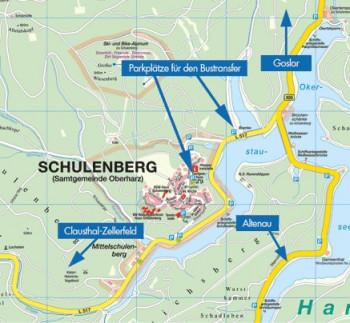Anfahrt zum Ski-Alpinum Schulenberg