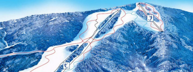 Pistenplan Skicenter Gače