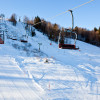 Im Skigebiet Gače erwarten dich 7 km gut präparierte Pisten.