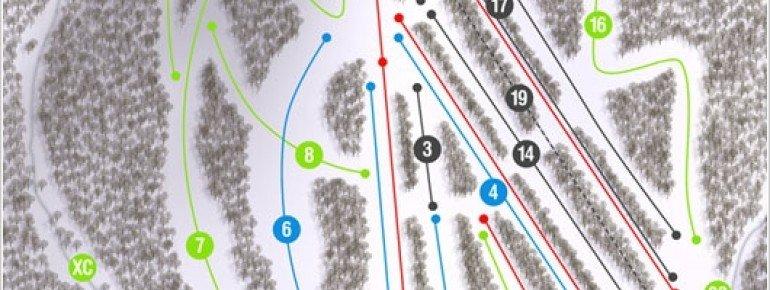Pistenplan Ski Denton