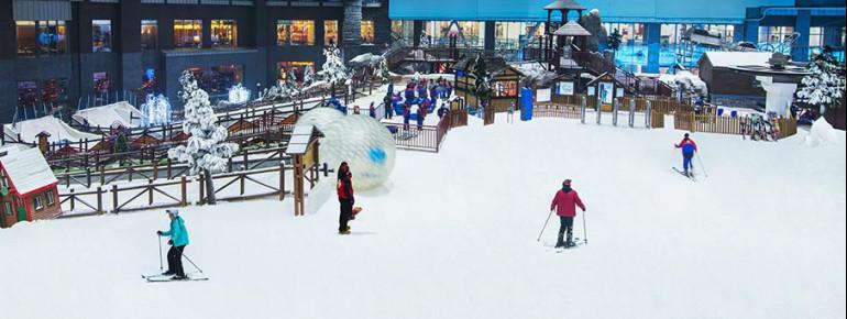Pistenplan Skihalle Ski Dubai (Mall of the Emirates)