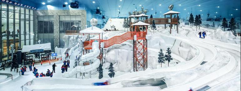 Pistenplan Ski Egypt Kairo