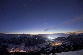 Das Hochtal bei Nacht