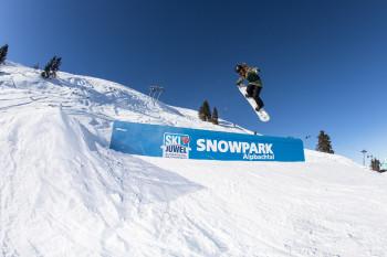 Der Snowpark im Alpbachtal