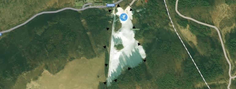 Pistenplan Ski TMG Remata